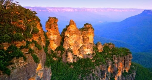 Explore sites of the Blue Mountains National Park during your next trip to Australia.
