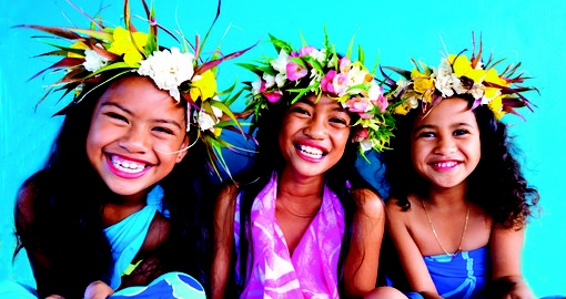 Smiling Faces of the Cook Islands