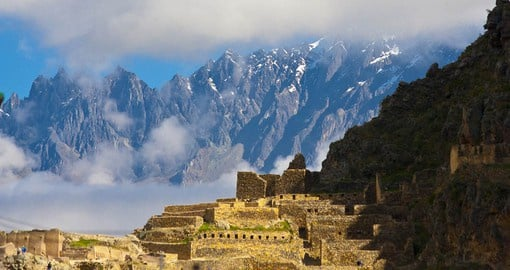 Two massive Inca ruins dominate Ollantaytambo, a fine example of Inca city planning