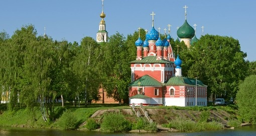 Include Church of the Dmitry in Uglich to your Russia vacation package.