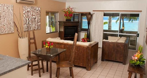The spacious rooms are perfect for Couples and Families alike who are on their Trips to Cook Islands