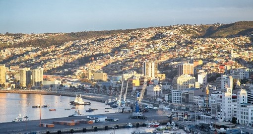 Begin your Chile vacation with a half day tour of Valparaiso and the surrounding wine region