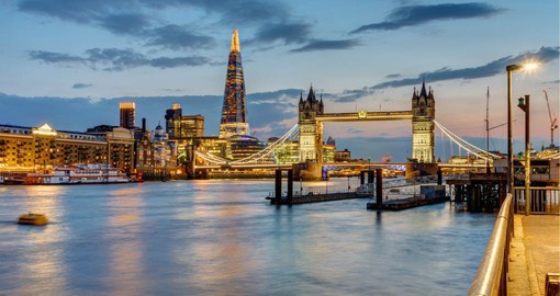 A rich history and sophistication make London one of the most visit city's on the planet