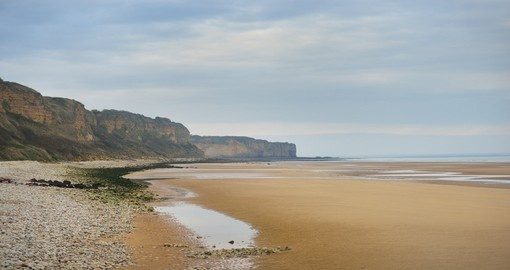 Visit Normandy beaches during your tour in France