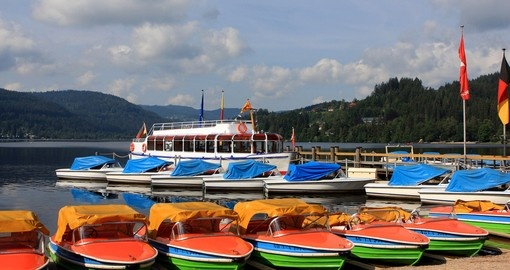 Lake Titisee in the Black Forest region