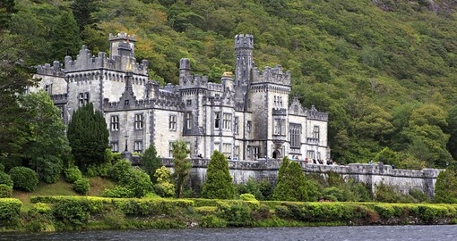 Visit Kylemore Abbey which was founded by Benedictine Nuns on your next Ireland tours.