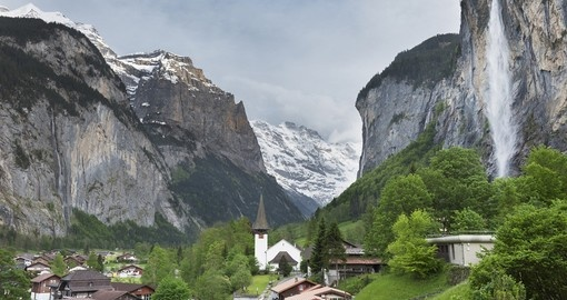 Beautiful Lauterbrunnen Valley