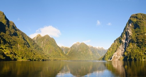 Cruise along in the Doubtful Sound during your Australia vacation.
