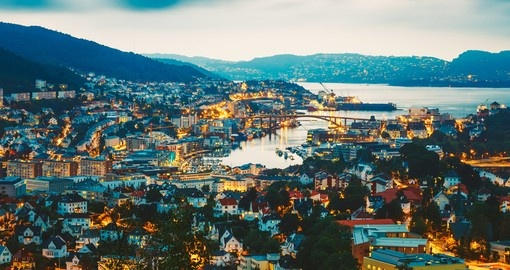 You will visit Bergen during your Norway trip.