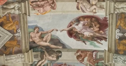 Considered Michelangelo's masterpiece, the Sistine Chapel is one of the greatest treasures of the Vatican City