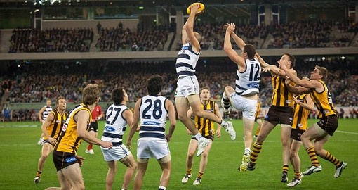 Aussie Rules - the sport of choice in Melbourne