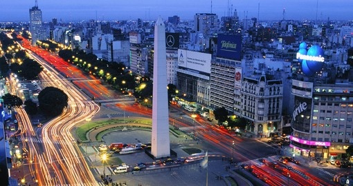 Visit Buenos Aires, Argentina during your South America Tour