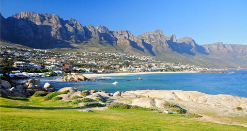 Spend a day at Camps Bay Beach on your South African vacation