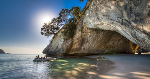 Cathedral Cove, Coromandel Peninsula. Image: Legend Photography