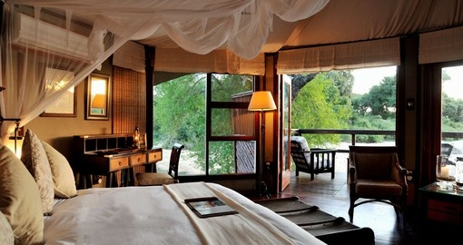 Tented luxury for your South Africa vacation at Hamilton's