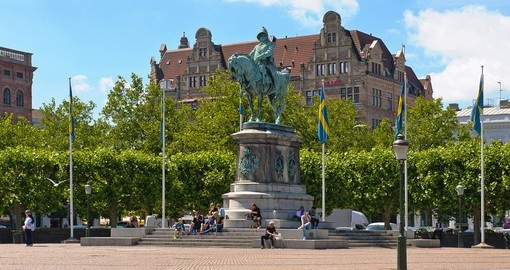 Charles X Gustav was the King of Sweden in the 15th century