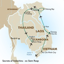 Secrets of Indochina - ex Siem Reap