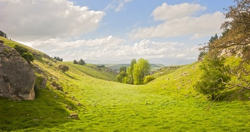 Discover Little Valley in Hobbiton during your next trip to New Zealand.