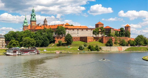 Dating from the 16th Century, Wawel Castle in Krakow is now a museum