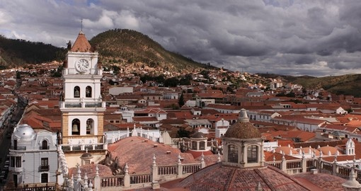 Sucre is the constitutional capital of Bolivia