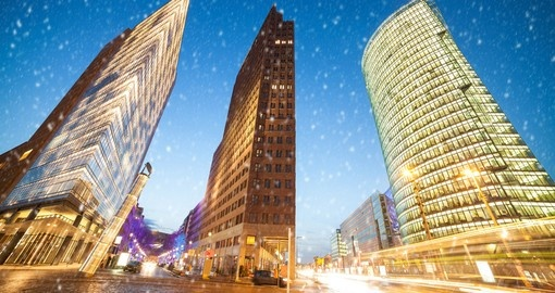 Visit Festive Potsdamer Platz at Christmas as part of your trip to Germany