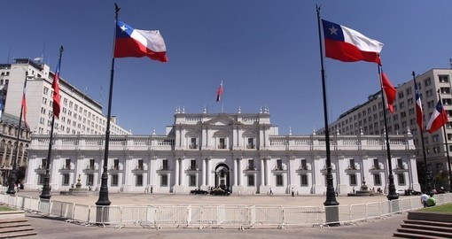 La Moneda Palace, Santiago is part of your vacation in Chile