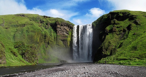 Visit the Skogafoss on your Iceland Tour