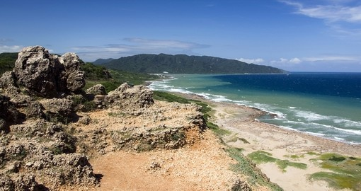 Coastline in Kenting National Park