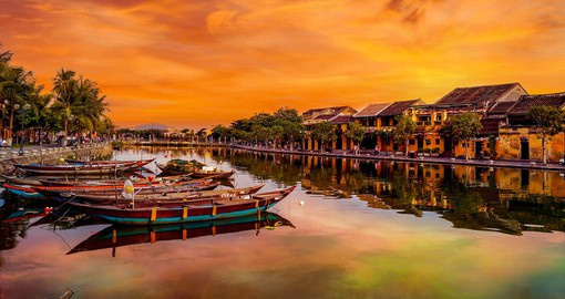 Dating from the 15th century, Hoi An was an important trading port