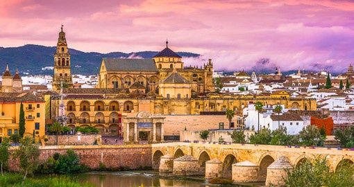 Cordoba's greatest glories came during the Moslem occupation, when its inhabitants number more than one million