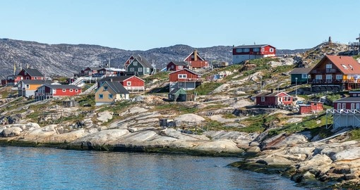 You will see Ilulissat during your trip to Greenland