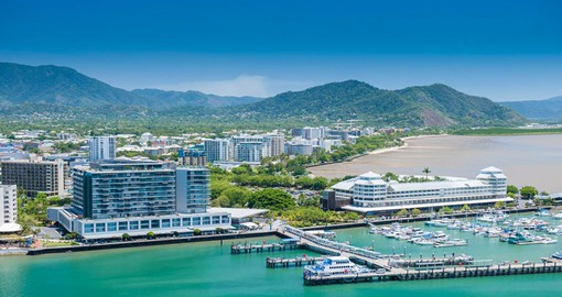 Include a visit to Tropical Cairns, gateway to The Great Barrier Reef on your Australia vacation