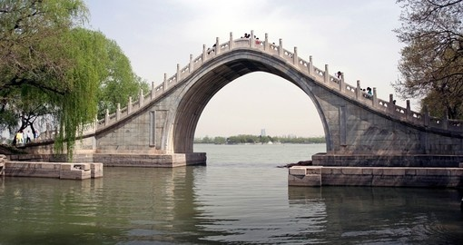 The Jade Belt Bridge in Beijing