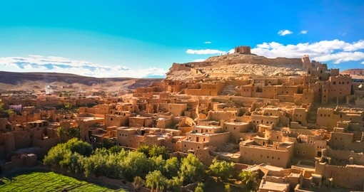 The fortified city of Kasbah