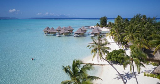 Le Moana Bora Bora enjoys an idyllic setting on the beach