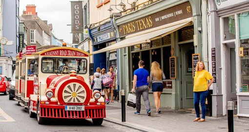 Design workshops, theatre, public gardens and museums make Kilkenny one of Ireland's most visited towns