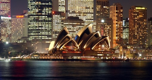 The Sydney Opera House hosts over 1500 performances each year
