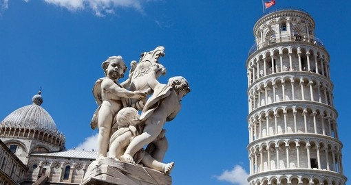 Explore world famous Pisa the extraordinary Leaning Tower on your next Italy tours.
