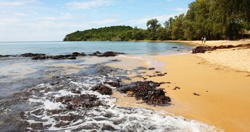 Sihanoukville is known for its tropical beaches and is a great choice when booking one of our Cambodia tours.