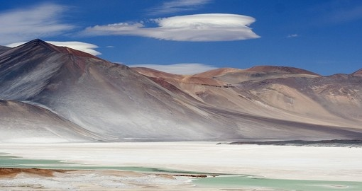 Visit San Pedro de Atacama, one of the driest places in the world, on your Chile Tour