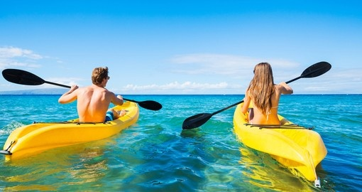 Enjoy Kayaking while on your Tahiti vacation