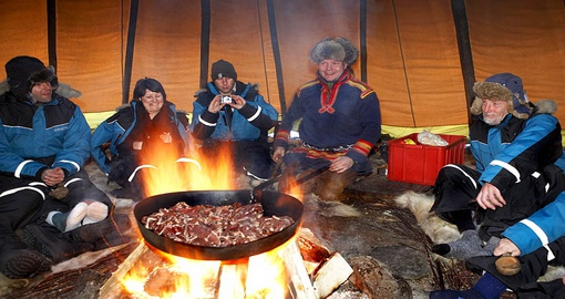 Experience Sami dinner on your next Swedish vacations