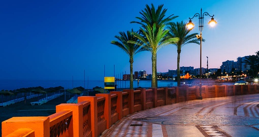 Stroll the Embankment in Benalmádena on your Spain Tour