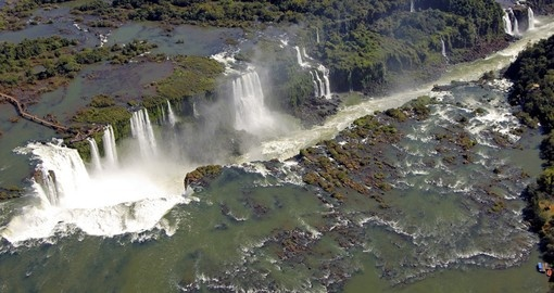 Iguazu waterfalls in Argentina are a great photo opportunity on Argentina vacation