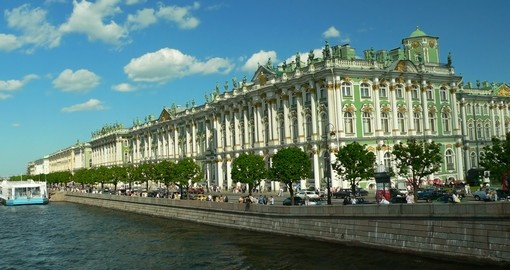 Your russian tour ends in St. Petersburg