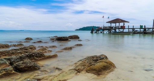 Conclude your Malaysian Tour Package on beautiful Manukan Island