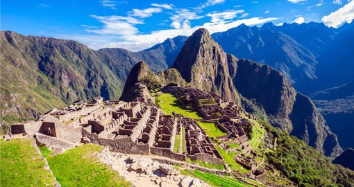Enjoy a Machu Picchu tour on your Peru vacation
