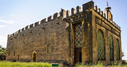 The chapel of the tablet is a great photo opportunity while on your Ethiopia vacation.