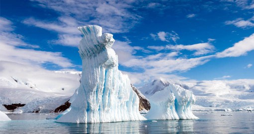 Enjoy the natural beauty of the Antarctic Peninsula