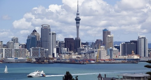 Explore view from Auckland skyline during your next trip to New Zealand.